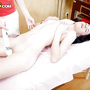 Steamy massage hardcore fucking session