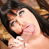 Horny Sadie West Enjoying Pussy Getting Drilled And Face Jizzed