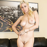 Sexy blonde Shay Laren masturbates with her fingers!