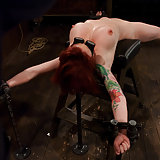 Porn Legend Kylie Ireland and her huge nipples spread out and tortured.