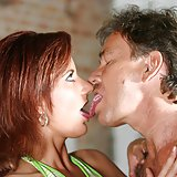 Olivia & Michael Babe Blowjob Brunette Hardcore Young Old