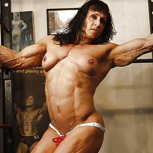 Tazzie Colomb - female bodybuilder muscles