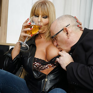 Naughty MILF Miss Gabrielle Fox goes all the way