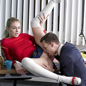 Lucy Heart – usual day in office