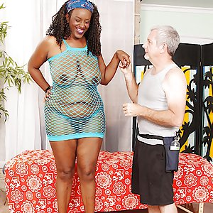 Older black woman Heather Mason fondled