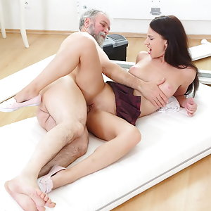 Nakita has the most amazing sex of her life with someone's grandfather