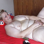 Mature Ingrid loves playing when shes alone